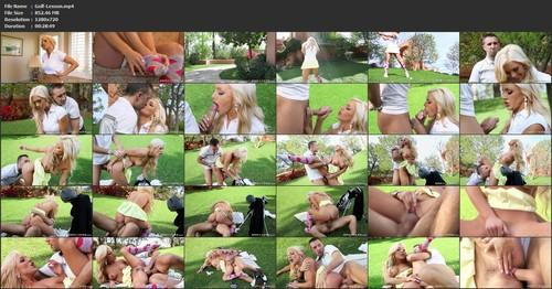 Cameron Dee - Golf Lesson, HD, 720p