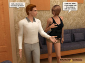 Nerdy boy gets lucky with schools two hottest chicks from Raunchyschool