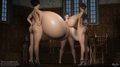 3d adult expansion comic by Ricky Java - Marinda