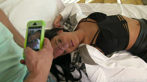 Luna Star - passed out in some sexy lingerie, HD, 720p