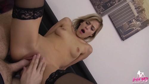 Hornydreambabez.com - Ria Suun - Pretty blondie creampied