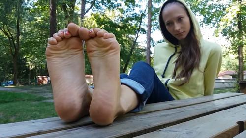 Grace's sandals