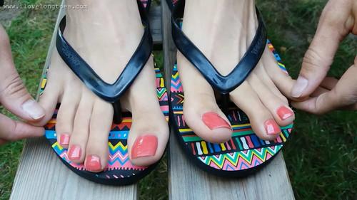 Grace in flip-flops