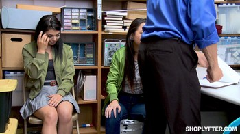 Shoplyfter Gina Valentina and Mi Ha Doan
