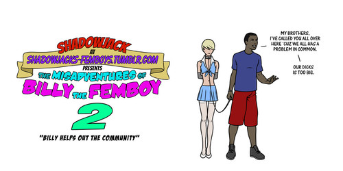 Free download porn comics: ShadowJack - The Misadventures of Billy the Femboy 2