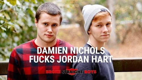 Damien Nichols Fucks Jordan Hart - (BrokeStraightBoys.com-2018)