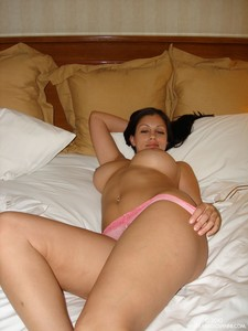 Aria Giovanni - Sheer Pink Lace
