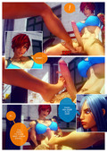 Muscle futa girls in 3d comic by Shassai - Gym Rats - ongoing