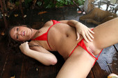 Maddy Oreilly - Sheer Red In Shower