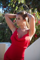 Harriette Taylor - Lady In Red