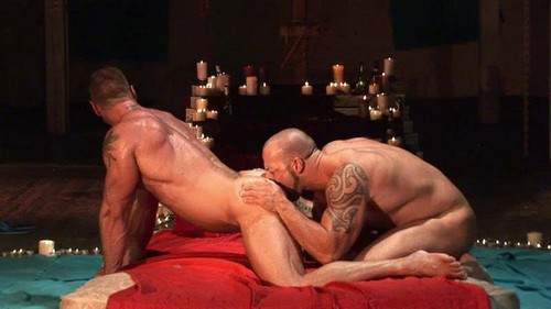 DarkAlleyXT – Muscled Disciples (Hank Dutch & Brock Hatcher)