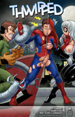 Tracy Scops - Thwipped - Spider Man comic for adults + French version