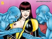 Leandro Comics Watchmen