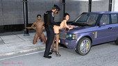 3d sex comic - Car Trouble from Douglas Neves