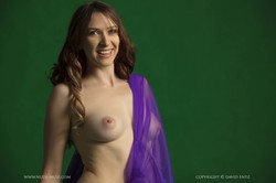 Caity - Purple And Green