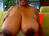 Gigantic African Black Tits Live Cam
