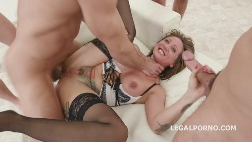 Monsters of DAP with Betty Foxxx 5on1 Starting DP Balls Deep Anal Terrific DAP Prolapse Attempt Squirting GIO531  [SD]