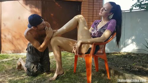 Dirty Big Feet Worship[Huge Size-47 in Ekaterina Lisina.]