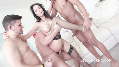 [LegalPorno] 7on1 Double Anal GangBang with Francys Belle /See Description for More Info/ GIO314 [2017 , Anal, Gonzo, 480p]