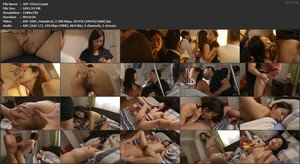 JUY-352 Housewife Insults Molested Train sc3