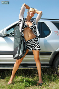 Clara Carol Goldnerova - Outdoor Sexy Set43