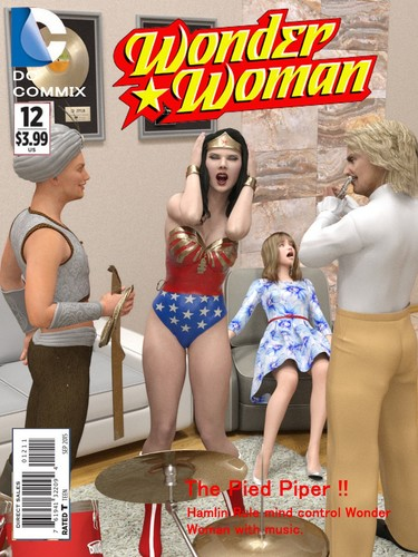 Wonder Woman- The Pied Piper Cover