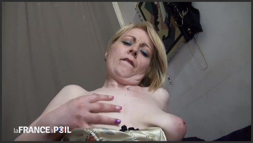 [NUDEinFRANCE / laFRANCEaPoil] Marion Moon ( Sexy and naughty hairy milf gets her ass pounded / 24.09.15) [2015 , MILF, Big tits, Blonde, Rough sex, Hairy pussy, Creampie, 720p]