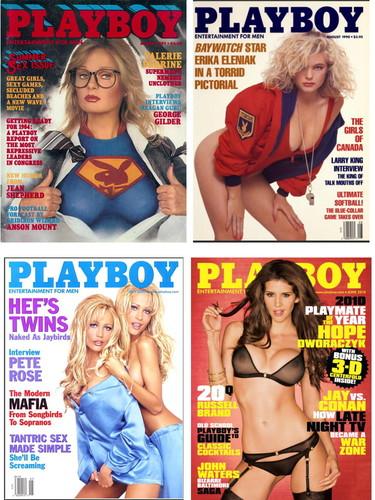 Playboy USA Jahrgang 1980 bis 2012 Cover