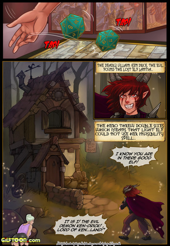 Dungeons and Fuckers 1 by Gilftoon
