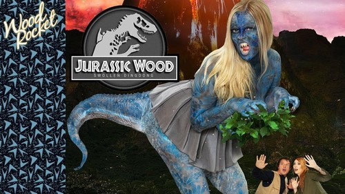 Lauren Phillips, Codi Vore  - Jurassic Wood Swollen Dingdong  (2019/HD) WoodRocket